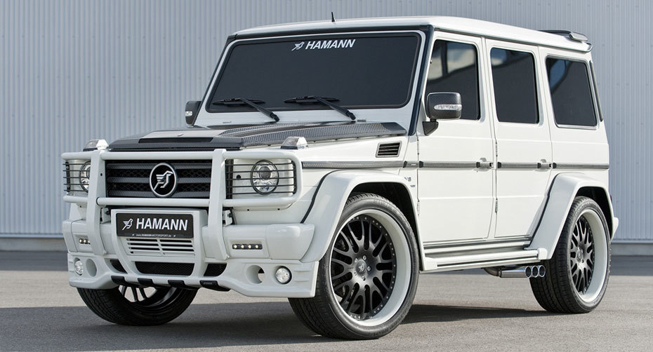Обвес Hamann для Mercedes W463 G-class Копия