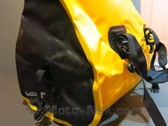 Водонепроницаемая сумка LOBOO 66 л желтая