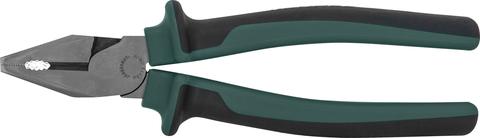 P0118 Пассатижи с увеличенными рычагами и двухкомпонентными рукоятками, 200 мм
