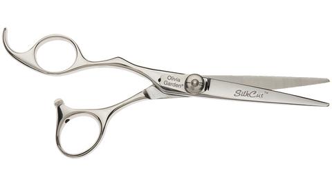 Ножницы для стрижки Olivia Garden Silkcut 575 для левши