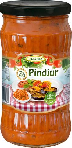 Болгарская закуска  Пинджур печеный сладкий перец и томаты5206953001056 Ellatika 310 гр