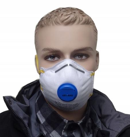 Коммерческое предложение: Респиратор с клапаном – надежная защита дыхательных путей