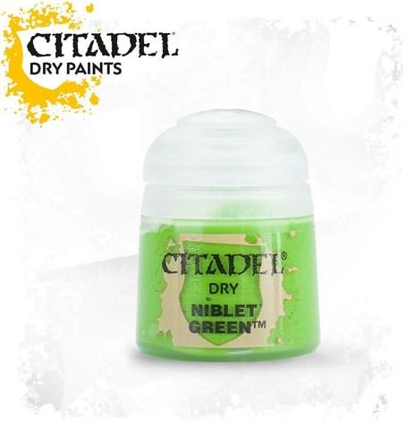 Краска Citadel Dry: Niblet Green