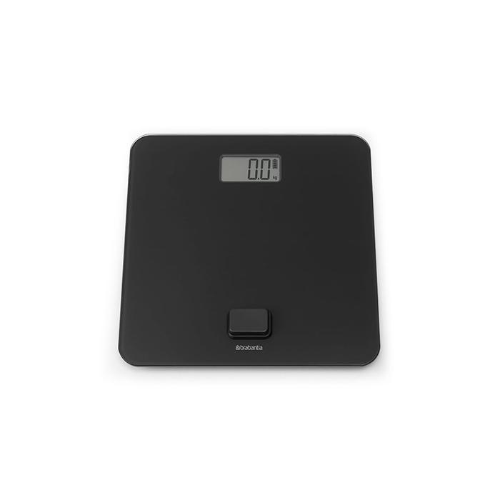 Цифровые весы для ванной комнаты, работа без батареек, Темно-серый, арт. 281341 - фото 1