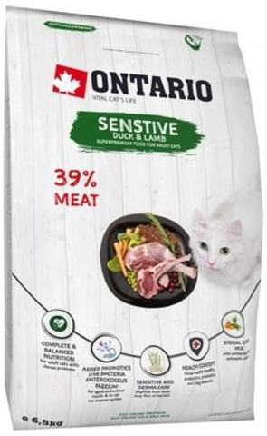 Купить Ontario Cat Sensitive для кошек