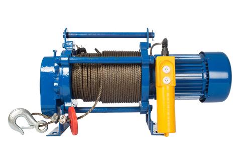 Лебедка TOR ЛЭК-300 E21 (KCD) 300 кг, 220 В с канатом 70 м, шт