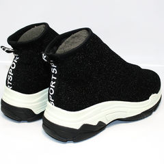 Sock sneakers Seastar LA33 Black.