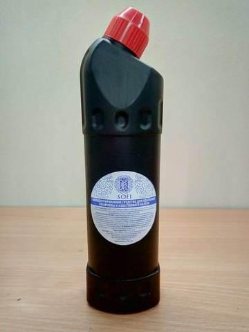 Кислотное средство Sofi для удаления ржавчины и известкового налета (аналог санокс) 750мл