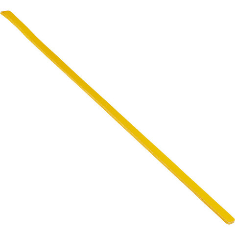 Полоса противоскользящая Мельхозе 25 мм х 1000 мм желтая (артикул производителя M1SV100252, 10 штук в упаковке)
