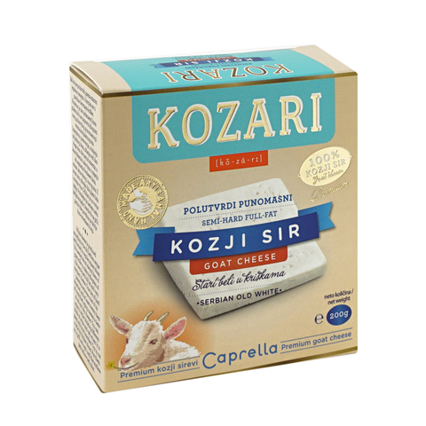Козий сыр Сербия, 200 гр.