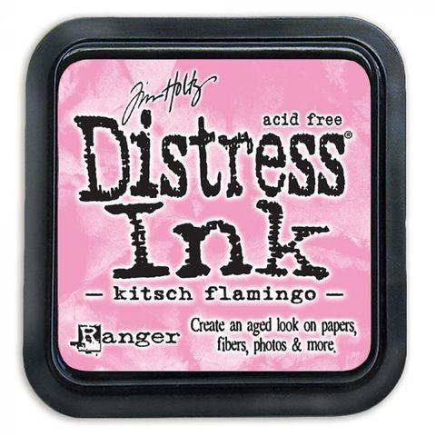 Чернильная подушечка Distress Ink Ranger - Kitsch Flamingo