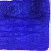 Кружево эластичное, 18см, цвет-ярко синий