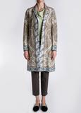 Пальто из хлопка и льна ETRO