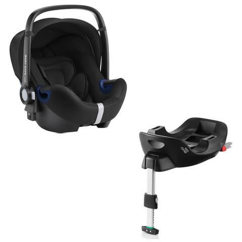 Автокресло Britax Roemer Baby-Safe2 i-Size Cosmos Black + Base Flex Isofix