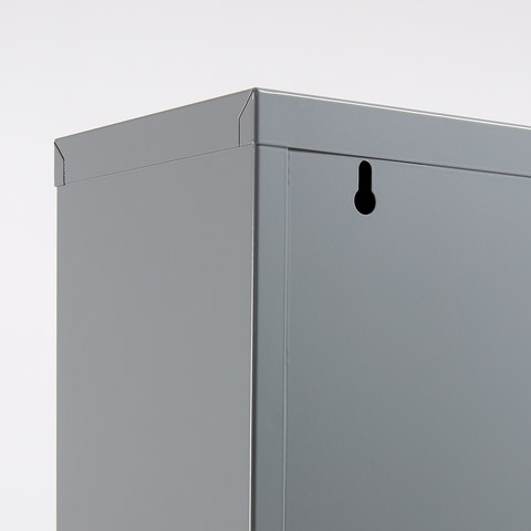 Полка для обуви Rox 5 дверей металл серый