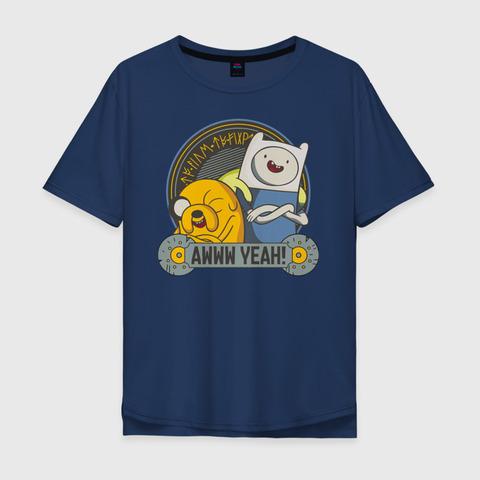 Футболка Adventure Time Awww yeah! - L
