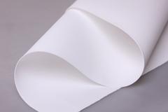 Фоамиран 60*70см 0,8мм 1 лист. белый 101-001