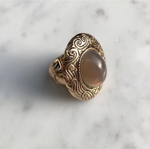 Кольцо Сента Ма, позолота