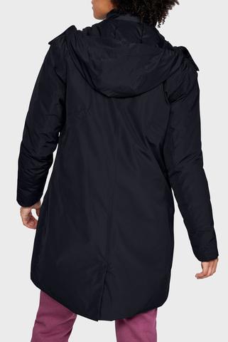 Женская черная удлиненная куртка UA Unstoppable Under Armour