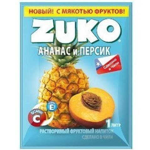 Растворимый напиток Zuko Ананас Персик 25 г