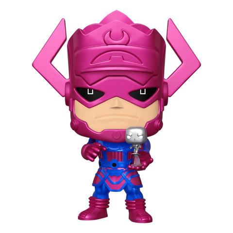 Фигурка Funko POP! Bobble Marvel Fantastic Four Galactus with Silver Surfer (MT) (Exc) 10
