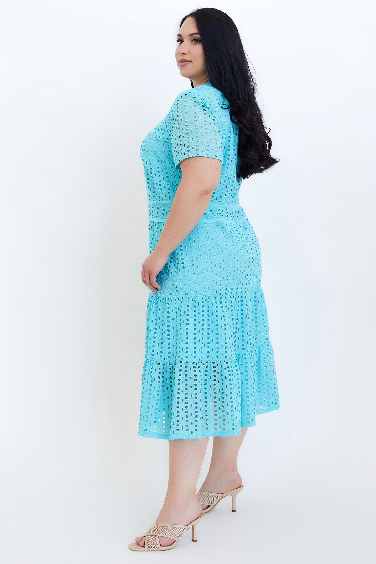 Сукня Віолетта  (Виолетта) (бирюза),прошва