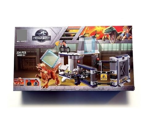 Конструктор Dinosaur World 10922 Побег Стигимолоха из лаборатории