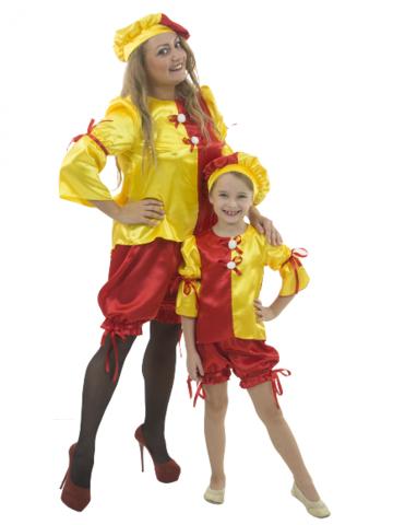 Карнавальный костюм Клоунесса взрослый