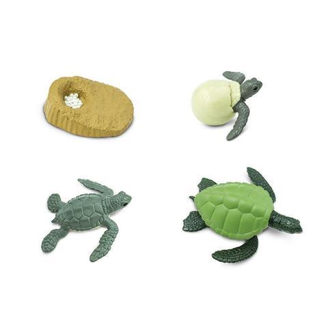 Набор фигурок Жизненный цикл морской черепахи Safari Ltd 622316