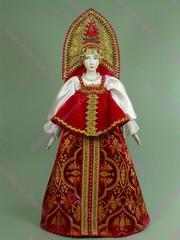 Интерьерная кукла Крестьянка в праздничном наряде
