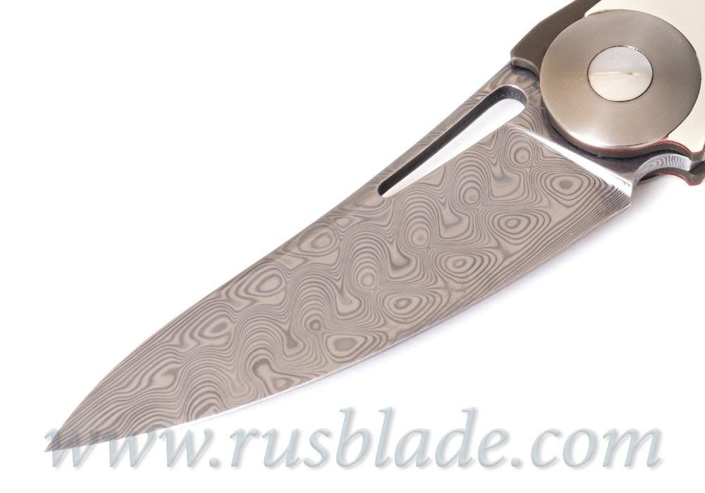 FULL CUSTOM Sinkevich Light Knife Silver accent one-off - фотография