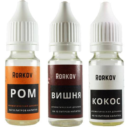 Карта ароматическая Rorkov для кулинарии (Кокос, Вишня, Ром)