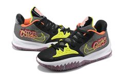 Nike Kyrie Low 4 'Black/White/Yellow'