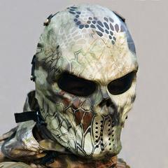 Tactical Mask Paintball — Highlander Rattle snake