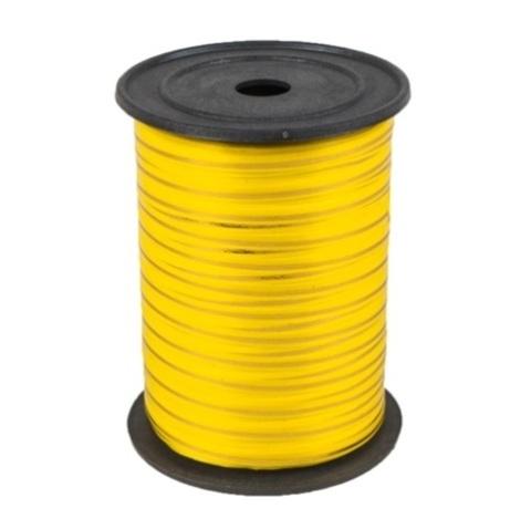 Лента золотая полоса Россия (размер 0,5 см х 230 м) Цвет: желтый