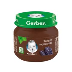 """Пюре """"Gerber"""" чернослив (с 4 месяцев) 80 г"""