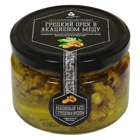 Грецкий орех в акациевом меду, 250 г