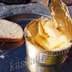 Масло сливочное стерилизованное 82,5%, 315г открытая банка