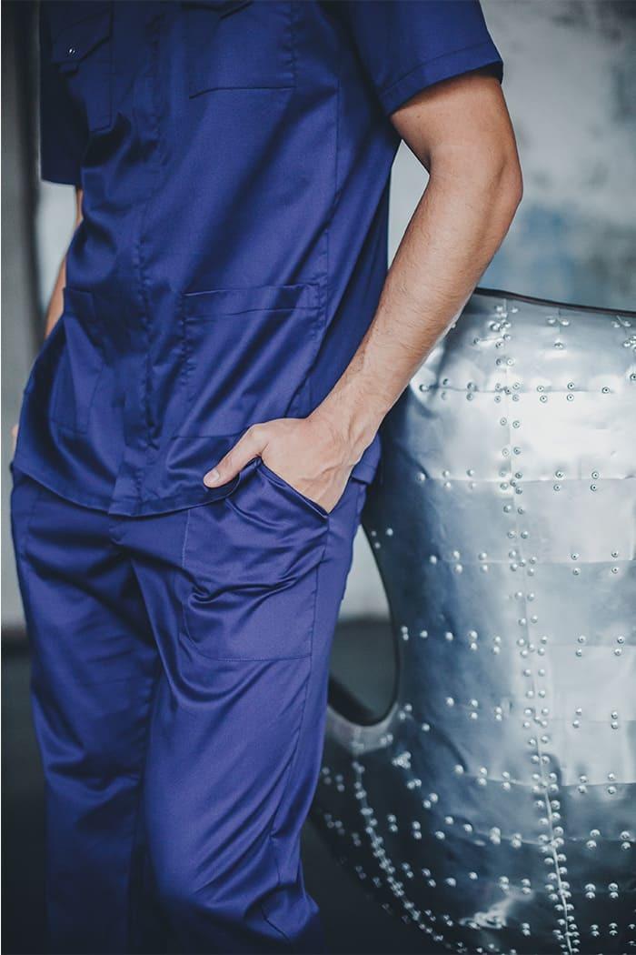 Блузы мужские медицинские М 47-1