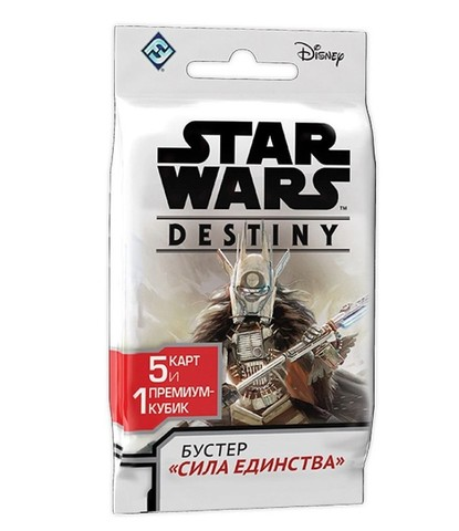 Коллекционная Карточная Игра Star Wars: Destiny. Бустер