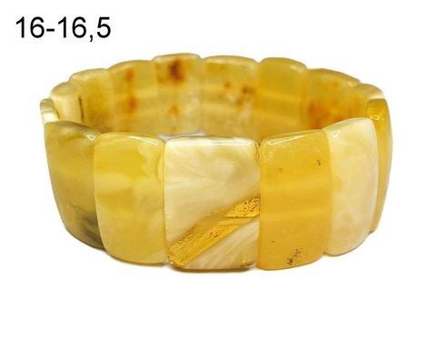 браслет из натурального балтийского янтаря