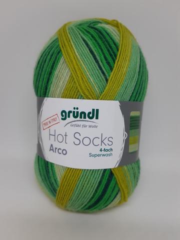Носочная пряжа Gruendl Hot Socks Arco 07 заказать