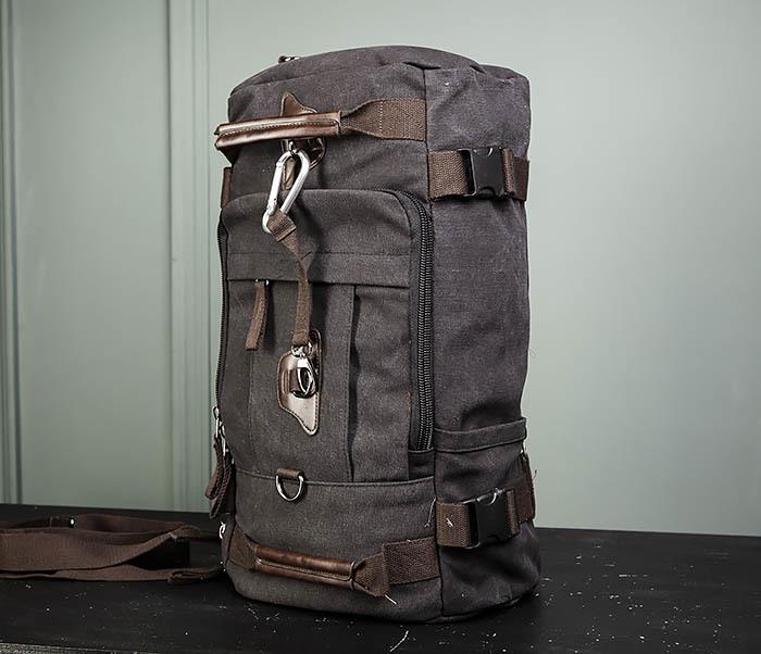 BAG479-1 Большой рюкзак трансформер из текстиля фото 12