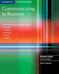 Communicating in Business: A Short Course for B...