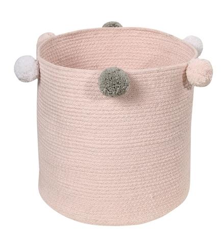 Корзина Lorena Canals Bubbly Pink (30 x Ø30 см)