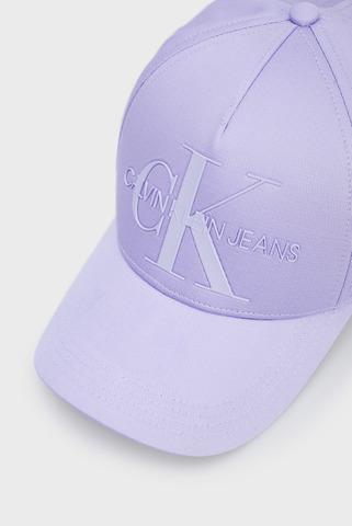 Женская сиреневая кепка MONOGRAM CAP Calvin Klein