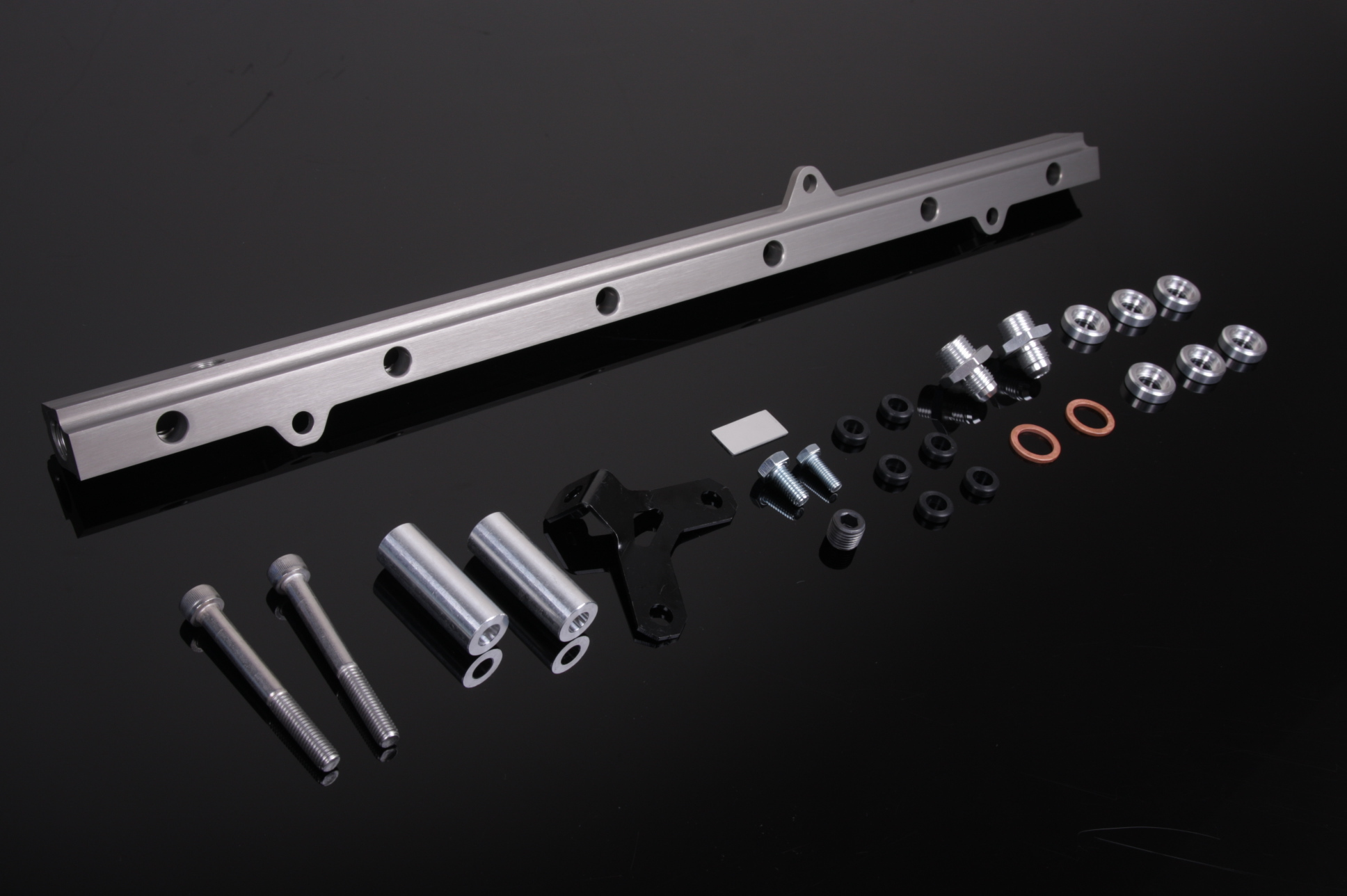 Топливная рейка Toyota Supra 2JZ ZAGE Top Feed Injector fuel rail kit