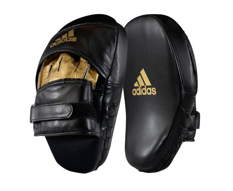 ЛАПЫ TRAINING CURVED FOCUS MITT SHORT ADIDAS