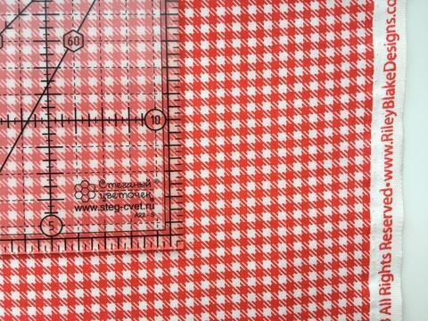 Ткань для пэчворка, хлопок 100% (арт. RB0617)