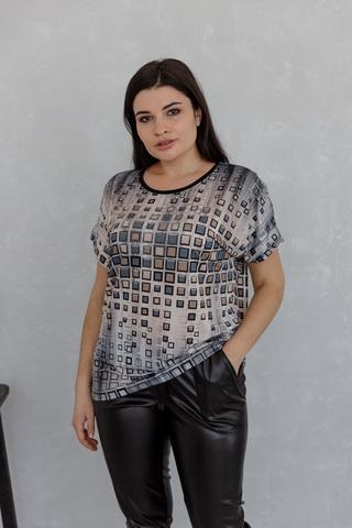 Блуза-футболка с камнями 03/30